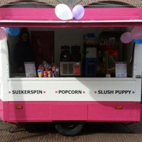 feest artikelen popcorn machine slush puppy machine suikerspinmachine huren