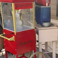 Popcornmachine huren feest Noord-Holland