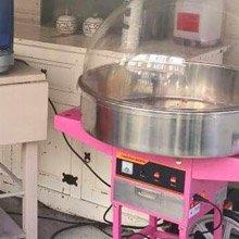 suikerspinmachine huren feest Noord Holland